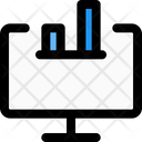 Online Growth Analysis Growth Growth Graph Icon
