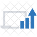 Laptop Data Business Businessman Icon