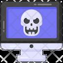 Online Danger Online Halloween Online Threat Icon