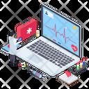 Online Healthcare Icon