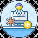 Online Healthcare Medical App Online Doctor Icon