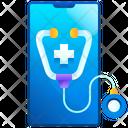 Online Healthcare Medical Drug Icon
