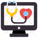 Online Medication Online Healthcare Online Consultation Icon