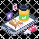 Online Medicines Medical App Online Healthcare Icon