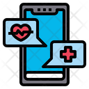 Online Heart Checkup Online Checkup Heart Rate Icon