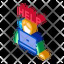 Computer Help Service Icon