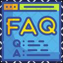 Online Help Faq Question Icon