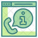 Online Help Help Support Icon