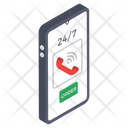 Online Helpline Icon
