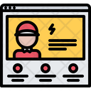 Website Landing Page Icon