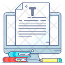 Online Homework Help Online Assignment Online Work Icon