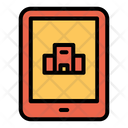Online Hotel Booking Icon