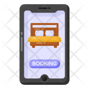 Hotel App Online Room Booking Online Hotel Booking Icon