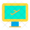 Flight Booking Ticket Booking Booking Icon