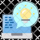 Chat Device Idea Icon