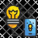 Online Idea Lights Idea Icon