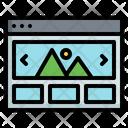 Online Image Icon
