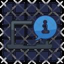 Online Info Online Information Info Sign Icon