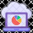 Online Analytics Online Statistics Online Infographic Icon