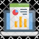 Web Analysis Web Statistics Icon