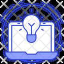 Online Innovation Creativity Inspiration Icon