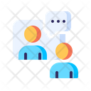 Virtual Interview Conference Icon