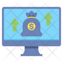 Online Investment Digitalinvestment Market Icon