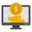 Online Investment Online Business Ebusiness Icon