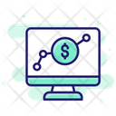 Online Investment Graph Investment Icon