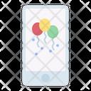 Invitation Media Birthday Icon