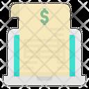 Document Online Invoice Icon