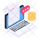 Online Invoice Payment Icon