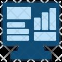 Business Report Data Analytics Report Icon