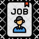 Job Human Resource Hiring Icon
