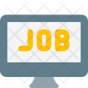 Online Job Search Online Job Online Work Icon