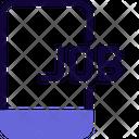 Online Job Online Business Online Work Icon