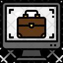 Online Job Icon
