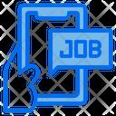 Online Job Find Icon