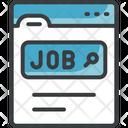 Online Job Search Online Job Search Online Job Icon