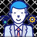 Online Job Service Consultant Job Icon