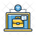 Online Jobs Platform Icon