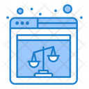 Online Justice Icon