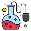 Online Lab Online Science Education Lab Test Icon