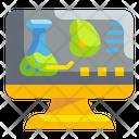 Online Laboratory Test Icon