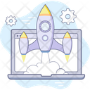 Online Launch Icon