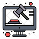 Online Law Icon