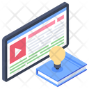 Web Video Video Page Internet Videos Icon