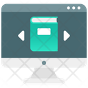 Online Learning Elearning Online Education Icon
