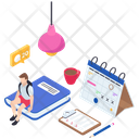 Online Learning Online Education Elearning Icon