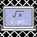 Education Elearning Laptop Icon
